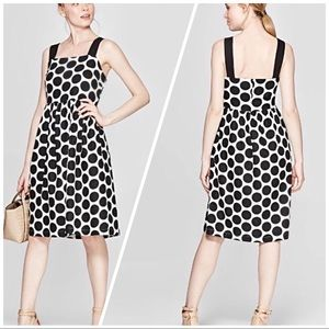 Who What Wear Happy Dot Pristine Sundress